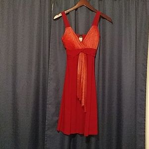 Gidani Dresses - Red Party Dress
